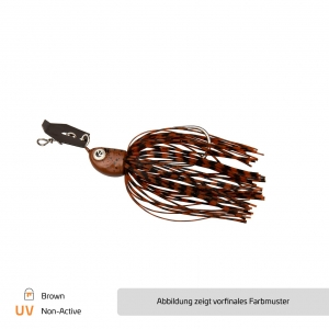 Chatterbait Brown - #1/0