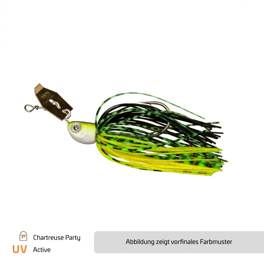 Chatterbait Chartreuse Party - #4/0