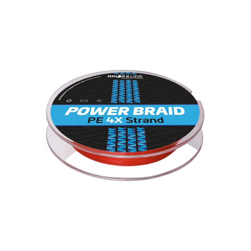 Broxxline Power Braid 4X 0,27 mm | Rot | 300 m