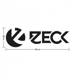 Boat & Car Sticker Zeck Black