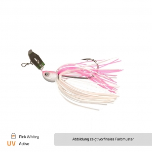 Chatterbait Pink Whitey - #3/0
