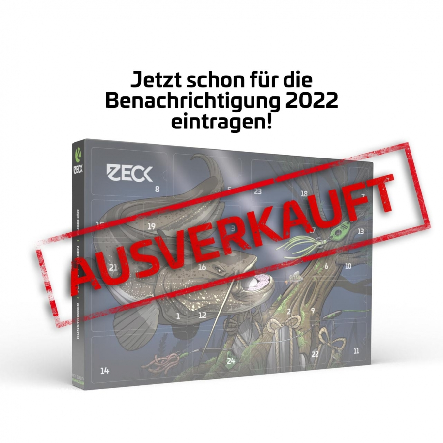 Zeck Waller Adventskalender 2021 – Leider ausverkauft