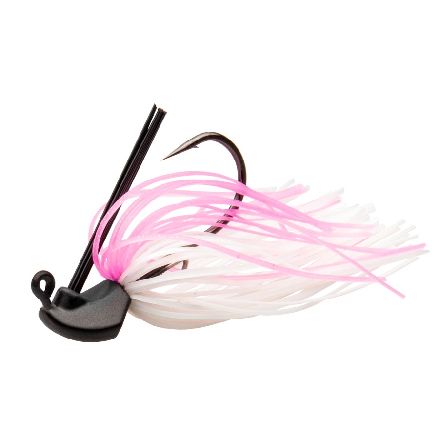 Skirted Jig Pink Whitey - #4/0