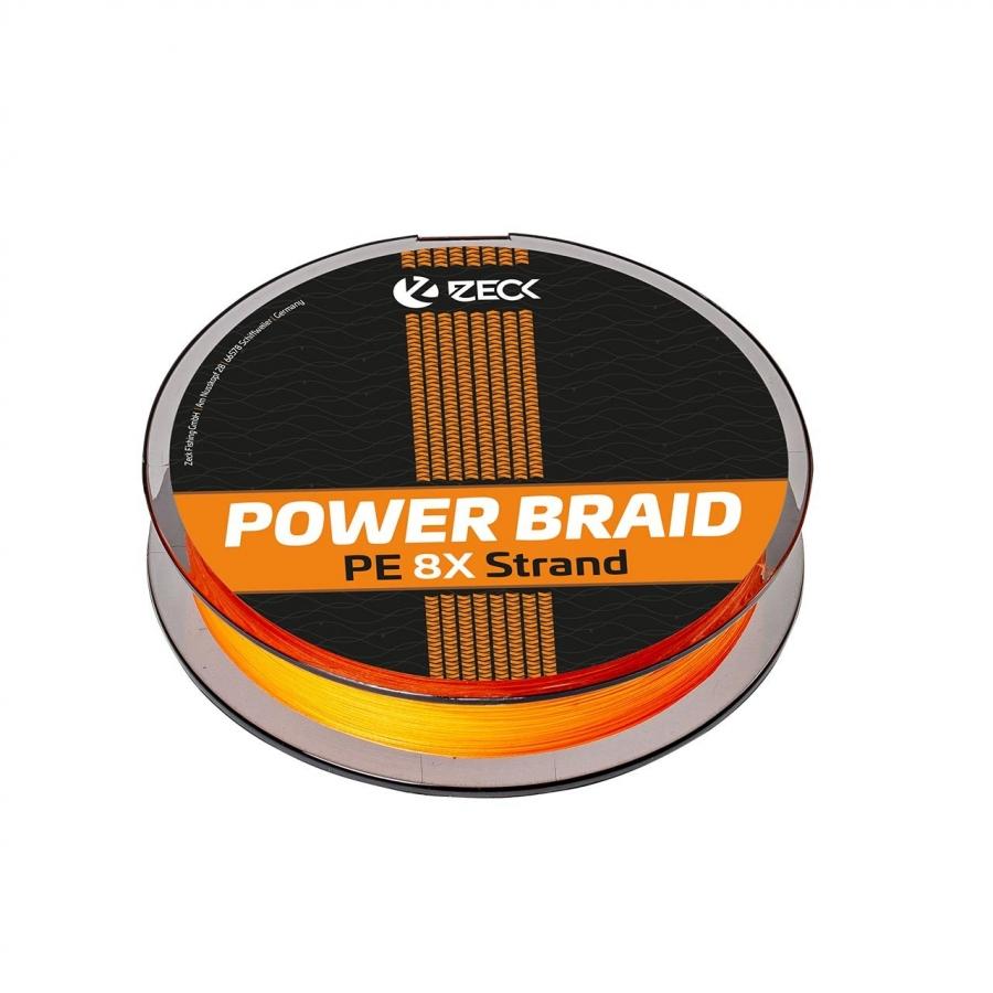 Powerbraid 8X 0,16 mm   Orange   150 m